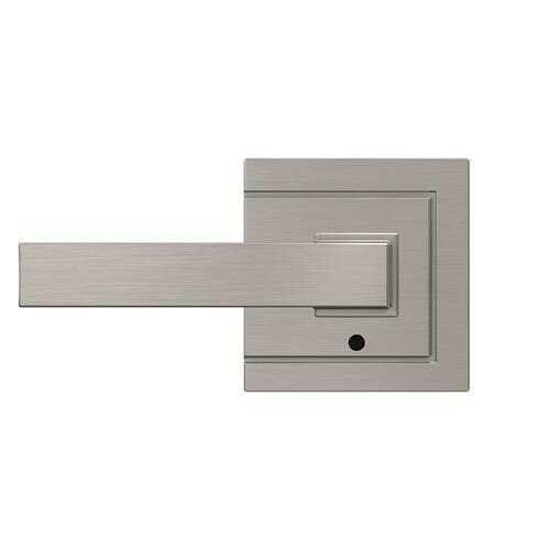 Custom Northbrook Non-Turning Lever with Upland Trim - Satin Nickel