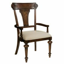 942706CP Charleston Place - Panel Back Arm Chair