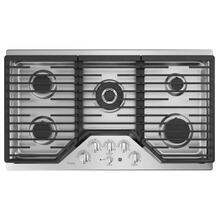 "GE Profile™ 36"" Built-In Tri-Ring Gas Cooktop with 5 Burners and Extra-Large Integrated Griddle"