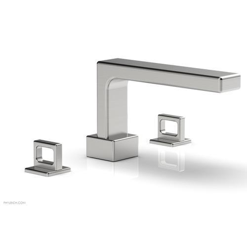 MIX Deck Tub Set - Ring Handles 290-42 - Satin Chrome
