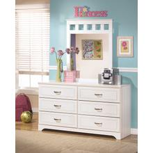 Lulu Bedroom Mirror White
