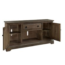 See Details - 64 Inch Console - Caramel Finish