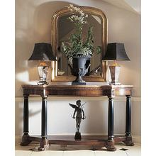 See Details - Consulate Empire Console With Marble Top