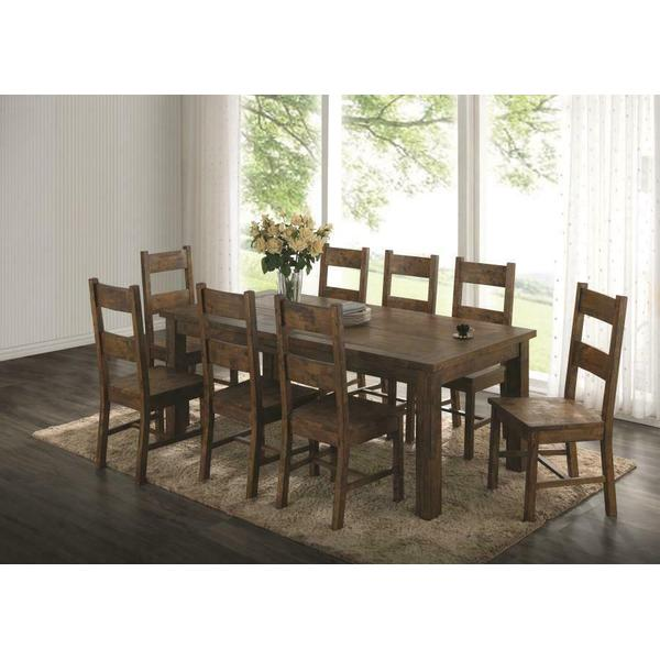 See Details - Coleman Golden Brown Five-piece Dining Set
