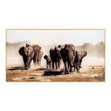 Elephant Herd Wall Décor