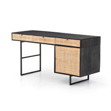 Black Wash Finish Carmel Desk