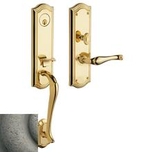 View Product - Distressed Antique Nickel Bethpage 3/4 Escutcheon Trim