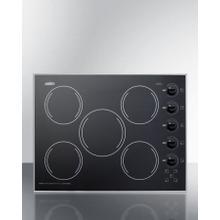 """See Details - 27"""" Wide 230v 5-burner Radiant Cooktop"""
