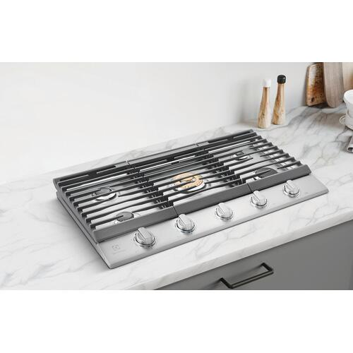 """Electrolux - 36"""" Gas Cooktop"""