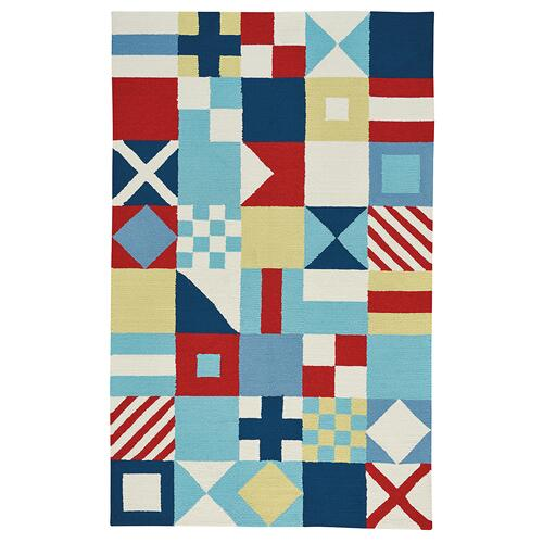 Flags Multi Loop Hooked Rugs