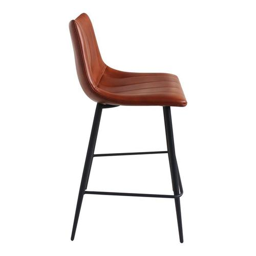 Moe's Home Collection - Alibi Counter Stool Brown-m2