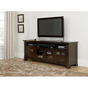 "74"" Console - Mesa Brown Finish"