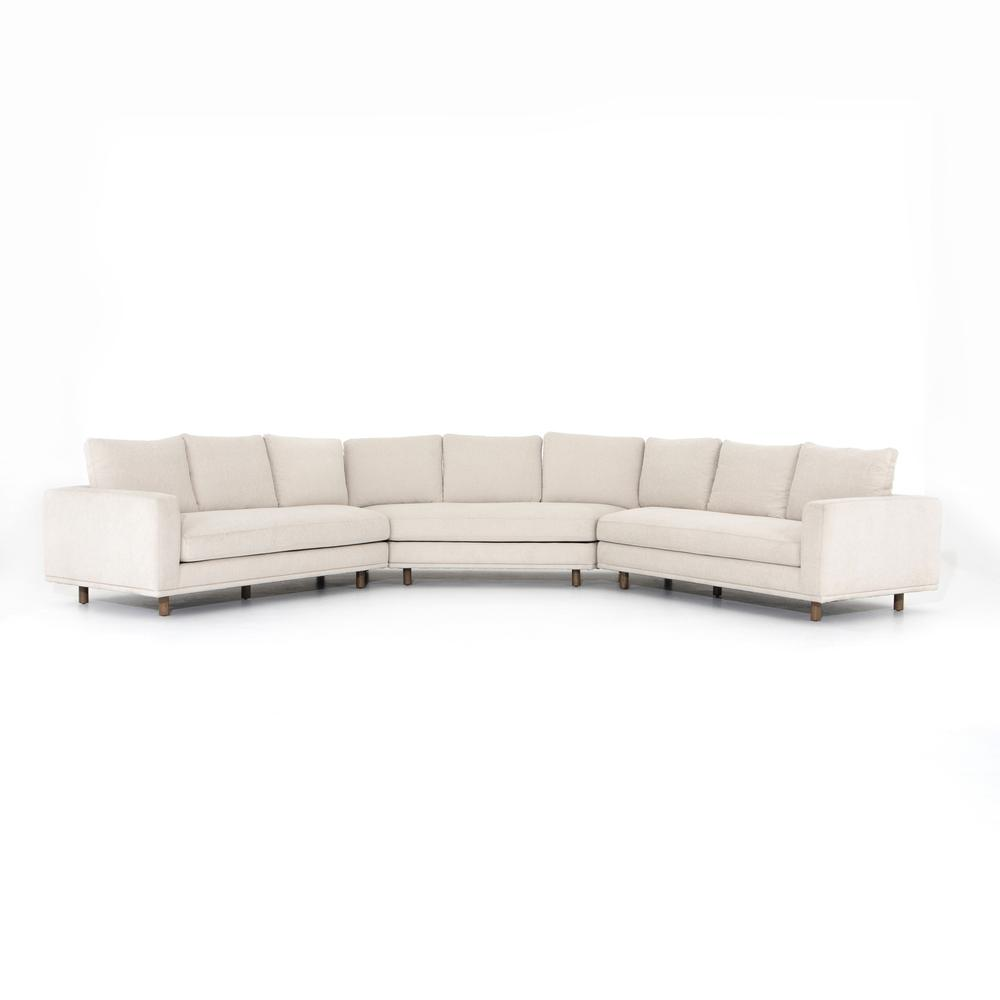 Large Wedge Configuration Dom 3-piece Sectional
