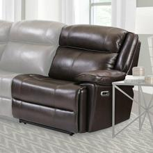 See Details - ECLIPSE - FLORENCE BROWN Power Right Arm Facing Recliner
