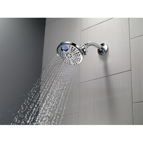 Chrome Temp 2 O ® 6-Setting Shower Head