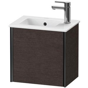 Vanity Unit Wall-mounted, Brushed Dark Oak (real Wood Veneer)