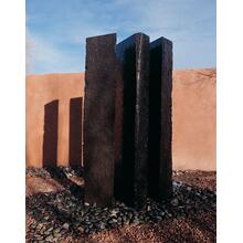 Outdoor Fountain: Triple Basalt Fountains (sets of 3) 60 Inch Height