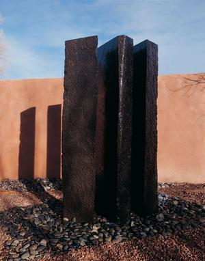 Outdoor Fountain: Triple Basalt Fountains (sets of 3) 60 Inch Height Product Image