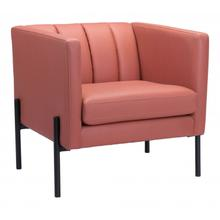 Jess Accent Chair Rust