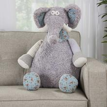 "Plushlines N1463 Grey 1'10"" X 2'2"" Plush Animal"