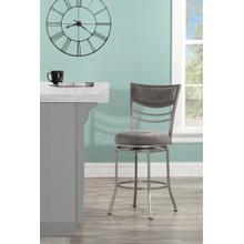 See Details - Amherst Swivel Counter Stool