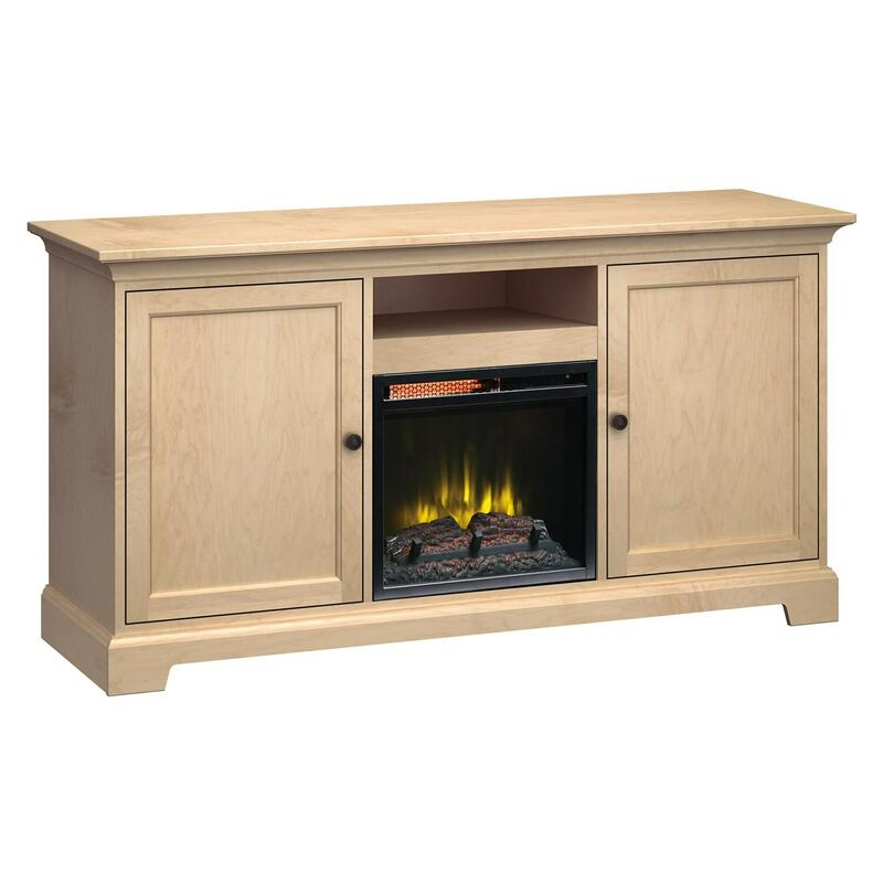 FP63A Fireplace Custom TV Console