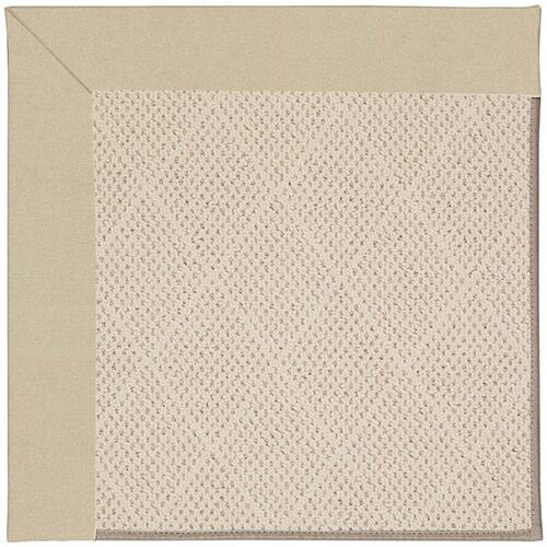 "Creative Concepts-White Wicker Canvas Antique Beige - Rectangle - 24"" x 36"""