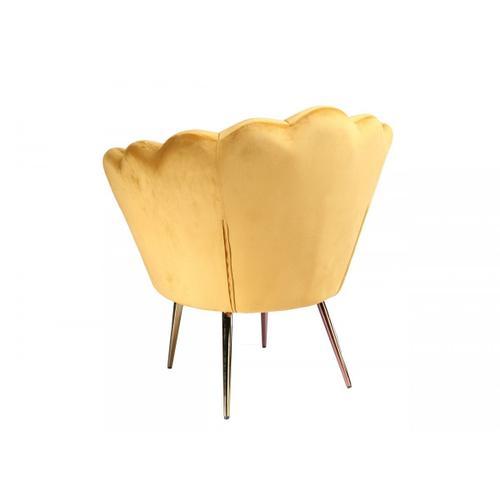 VIG Furniture - Modrest Balina - Transitional Gold Accent Chair