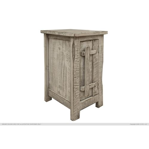 1 Door, Chair Side Table