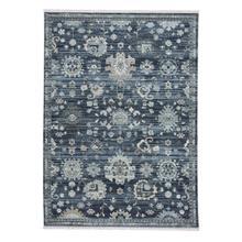 Alden-Ushak Blue Fog Machine Woven Rugs