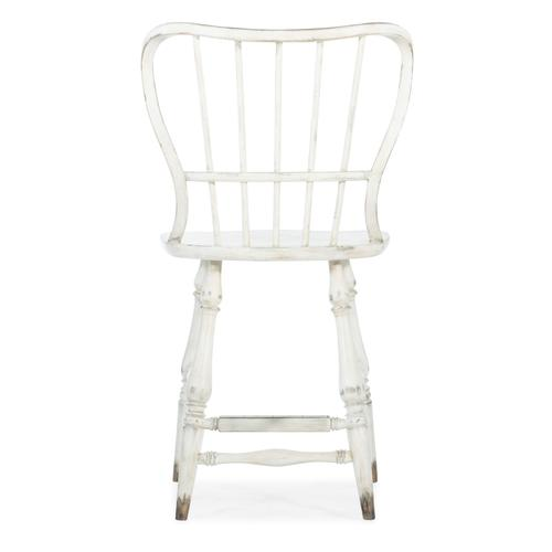 Hooker Furniture - Ciao Bella Spindle Back Counter Stool-White