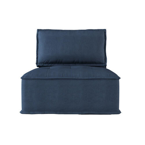 Homelegance - Modular Chair with Removable Bolster and Pillow