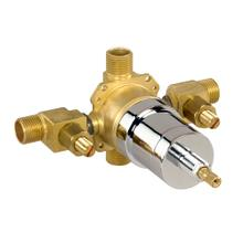 Rough Brass While Supplies Last - Pressure Balance Valve W/ Ceramic Disc Cartridge - Ips/sweat W/ Stops
