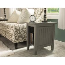 See Details - Nantucket Chair Side Table Atlantic Grey