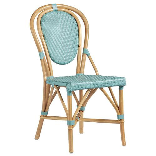 Accent Dining Chair- 2/CTN - Caribbean Blue Finish