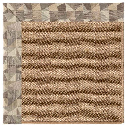 "Capel Rugs - Islamorada-Herringbone Geo Bronze - Rectangle - 24"" x 36"""