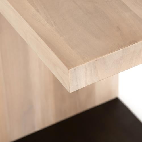 Ashen Walnut Finish Hudson C Table