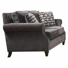ACME Ilex Loveseat w/2 Pillows - 50291 - Gray Chenille