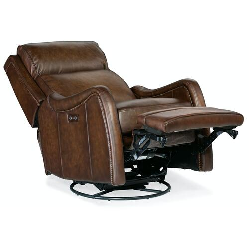 Living Room Stark PWR Swivel Glider Recliner