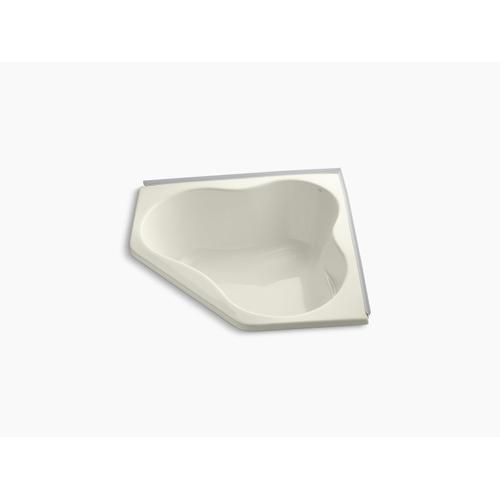 "Biscuit 54"" X 54"" Alcove Bath With Integral Flange"