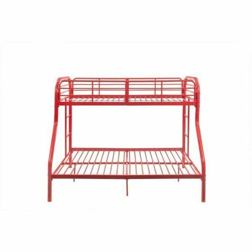 ACME Tritan Twin/Full Bunk Bed - 02043RD - Red