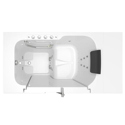 American Standard - Premium Series 32x52-inch Combo Massage Walk-In Tub  Outswing Door  American Standard - White
