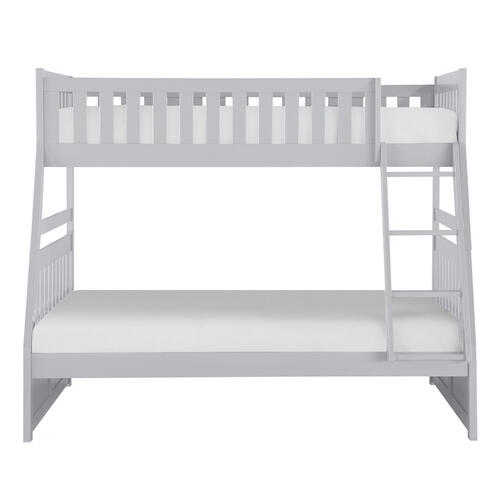 Homelegance - Twin/Full Bunk Bed
