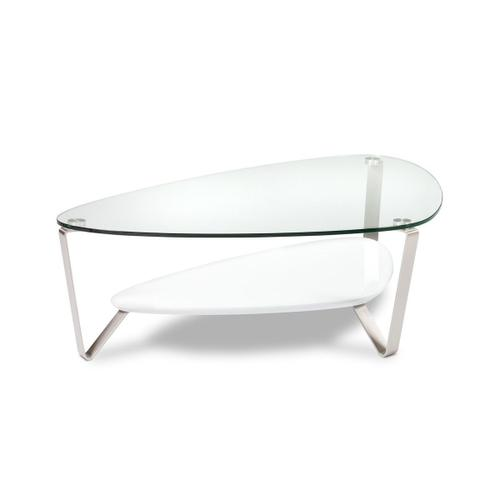 Large Coffee Table 1343 in Gloss White