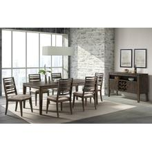 See Details - 7 Piece Set (Dining Table and 6 Side Chairs)