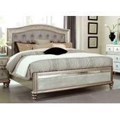 Bling Game Metallic Queen Bed