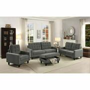 ACME Nate Loveseat - 50241 - Gray Fabric Product Image