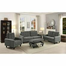 ACME Nate Loveseat - 50241 - Gray Fabric