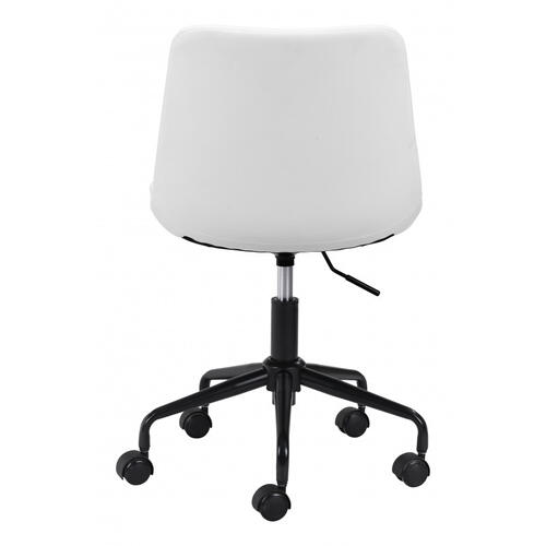 Zuo Modern - Byron Office Chair White