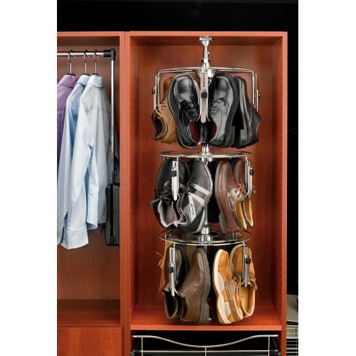 Rev-a-shelf - Rev-A-Shelf - CLSZ-M3-55-1 - 3-Shelf Men's Shoezen